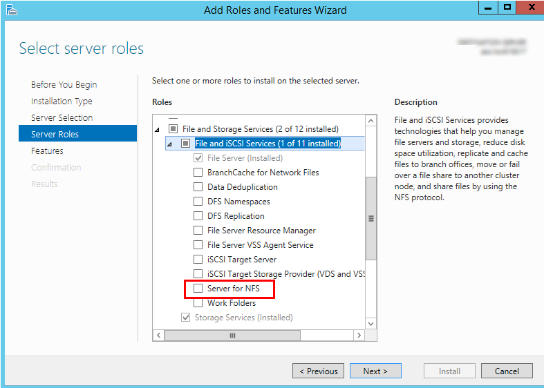 Mounting an NFS File System to ECSs (Windows)_Scalable File