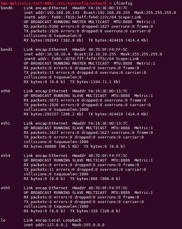Configuring a User-defined VLAN (SUSE Linux Enterprise